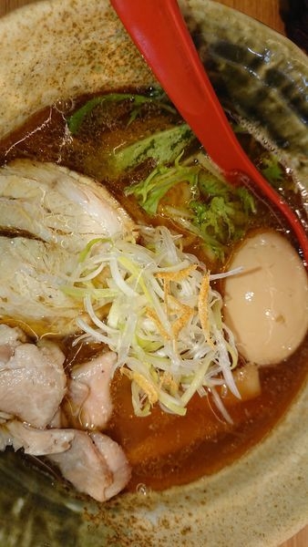 「焼きあご塩  味玉」@焼きあご塩らー麺 たかはし 大阪城店の写真
