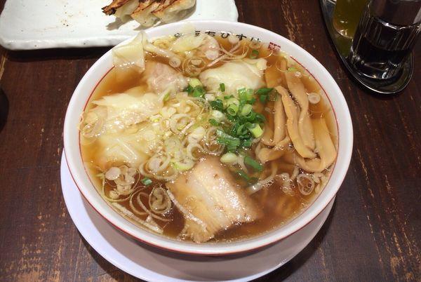 「特製ワンタン麺」@赤坂ちびすけ OOTEMORI店の写真
