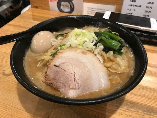 「味玉味噌ラーメン¥930」@ぼっけもんの写真