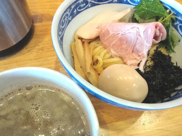 「【限定】濃厚イカつけ麺 ¥950・味玉」@寿製麺よしかわ 坂戸店の写真