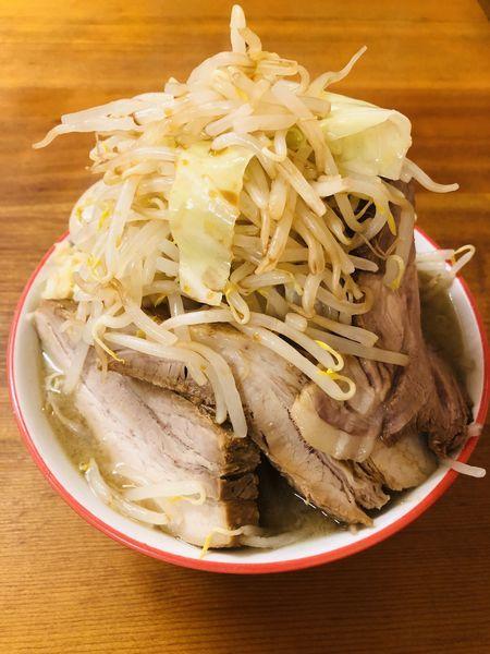 「特製ラーメン(トッピング 野菜増し)1000円」@麺屋 べべの写真