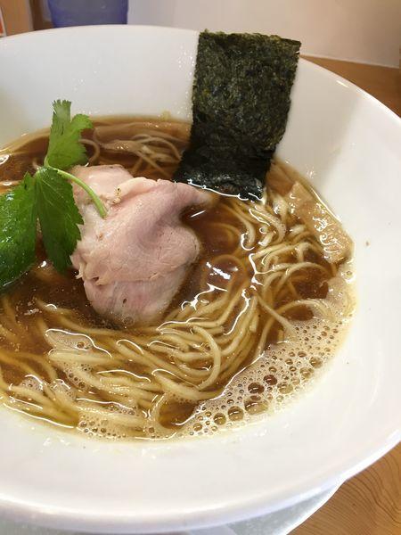 「純煮干そば(煮干し100%)」@麺屋BISQの写真