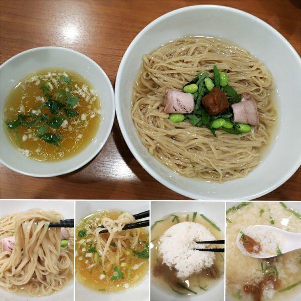 「羅臼昆布水の冷たい塩つけ麺(夏季限定) ¥900」@中華そば 七麺鳥の写真