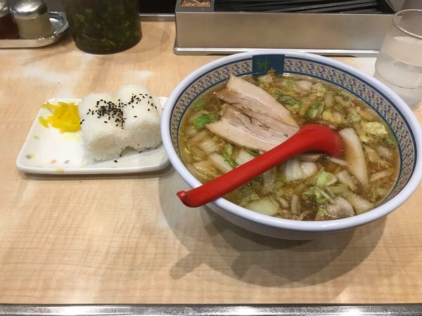 「おにぎりセット」@どうとんぼり神座 渋谷店の写真