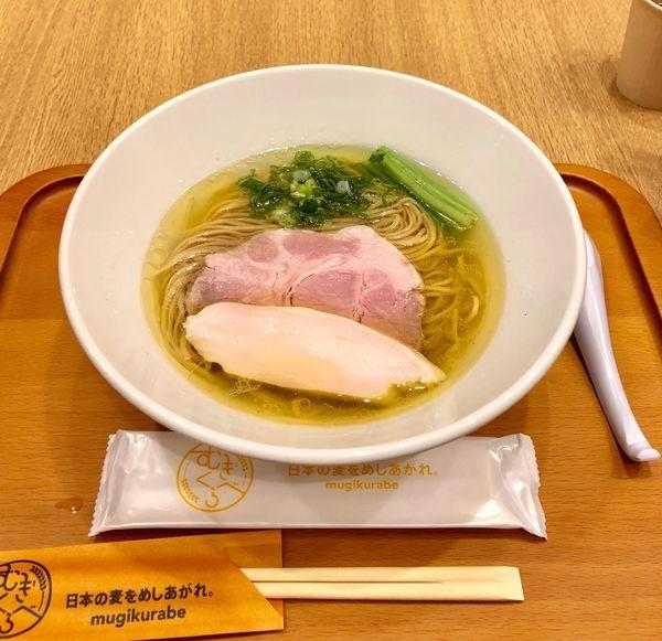 「[麺や 福はら] 芳醇鶏そば・塩 ¥900」@むぎくらべの写真