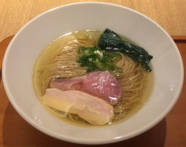 「[麺や福はら]芳醇鶏そば(塩)900円」@むぎくらべの写真