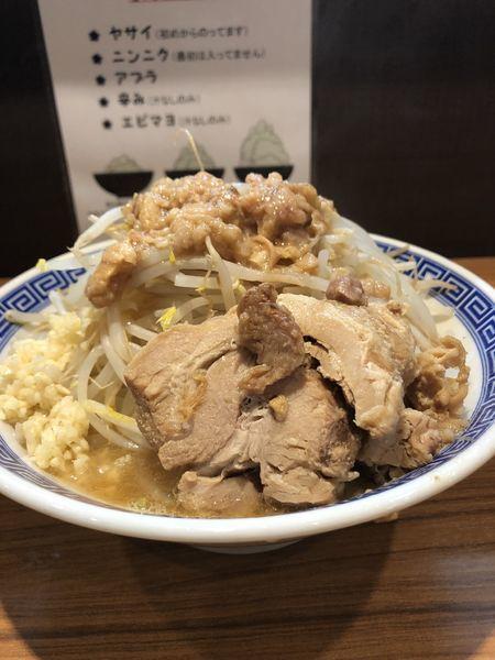 「ラーメン(並)麺やわ」@びんびん豚の写真