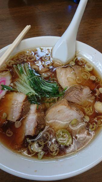 「チャーシュー麺」@ますや食堂の写真