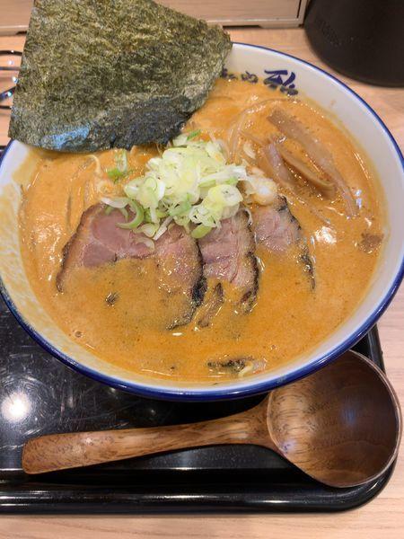 「辛味噌ラーメン」@麺や 雅 埼玉川口店の写真