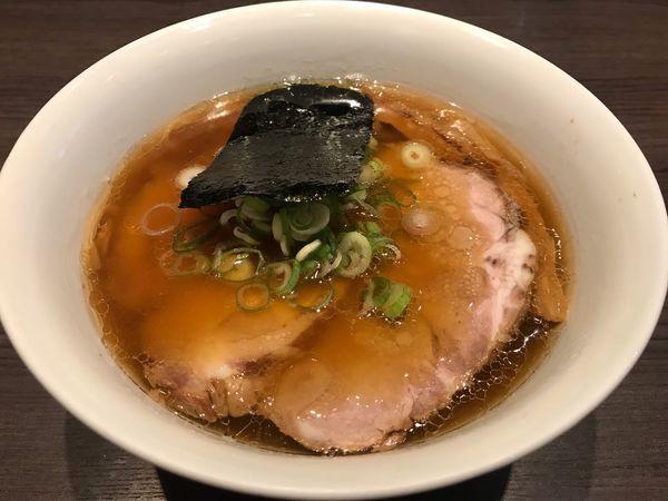 「醤油チャーシュー麺 ¥1,050」@支那そばや 本店の写真