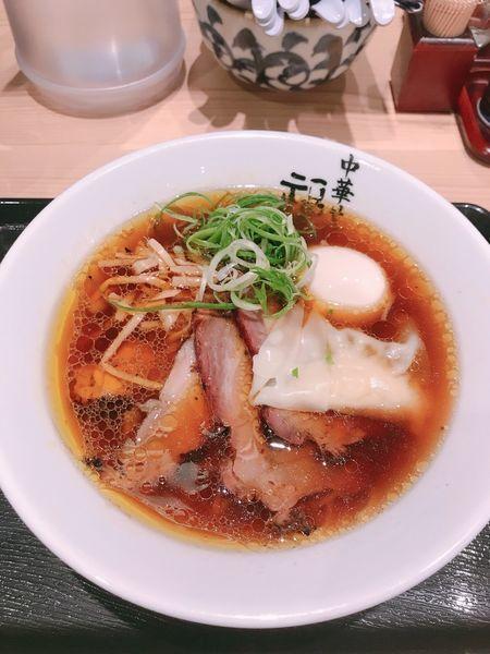 「中華そば 豪華盛り¥1120」@中華そば 福味 東京駅KITTE店の写真