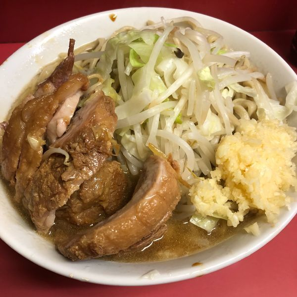 「小豚」@ラーメン二郎 桜台駅前店の写真