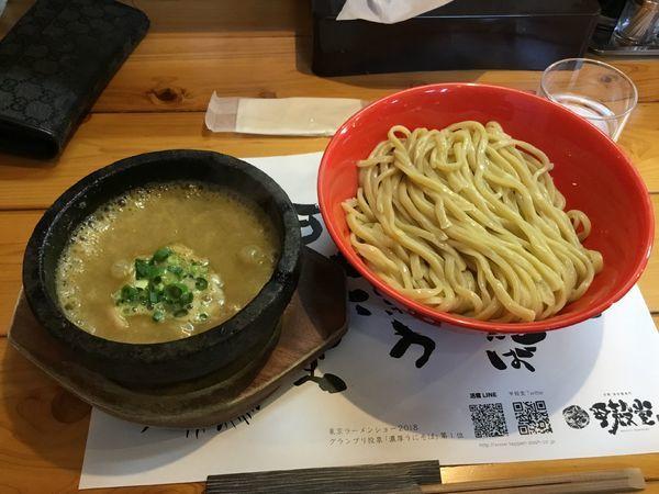 「伊勢海老のつけ麺」@活龍 海老蟹専門 甲殻堂の写真
