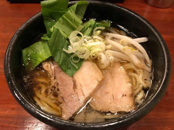 「まったり醤油らーめん ミニ  540円」@旬麺しろ八の写真