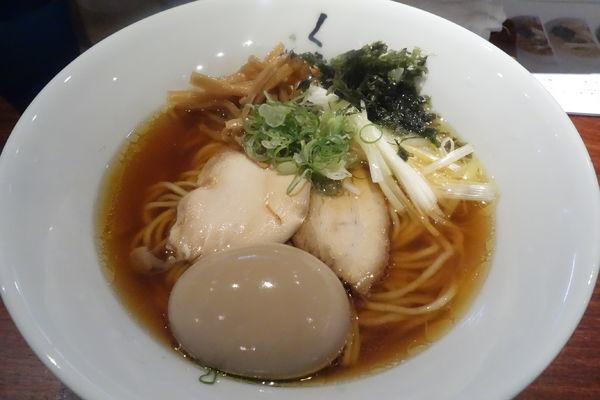 「味玉醤油らぁ麺」@仙臺くろく 定禅寺 JOZENJIの写真