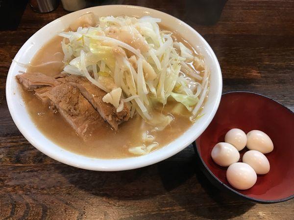 「普通盛(850円)+うすら100円」@麺屋 鳳の写真