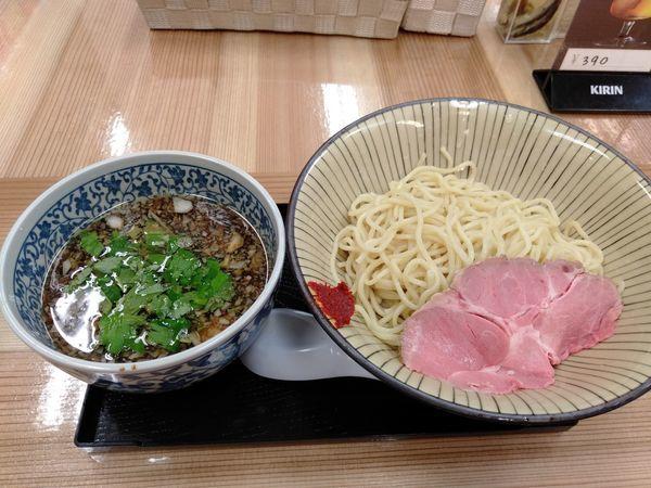 「つけそば」@仮麺中(角打ち わかさや)の写真
