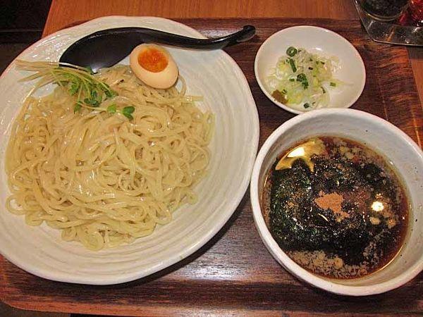 「鶏×魚介つけ麺並 790円」@麺処直久 新橋店の写真