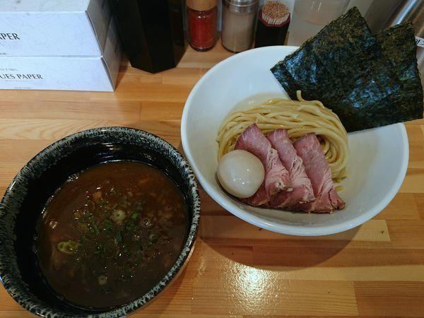 「特製濃厚つけ麺」@麺処しろの写真