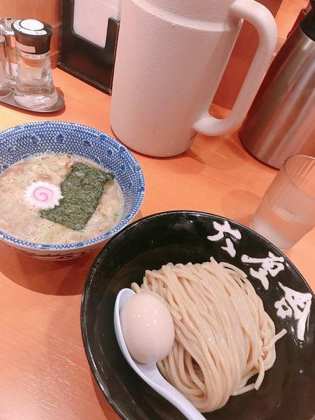 「朝つけ麺 味玉」@六厘舎の写真