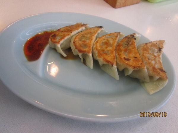 「餃子とチャーシュー麺」@うめ〜や! 夢屋の写真