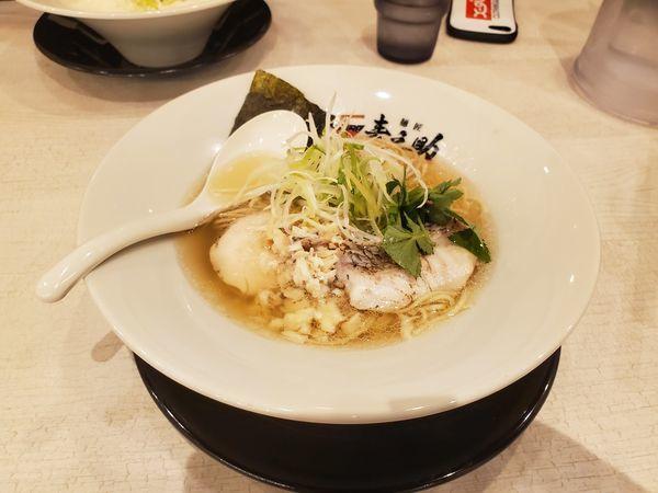 「真鯛塩ラーメン」@麺匠 麦之助の写真