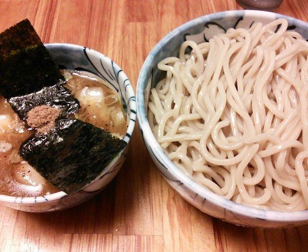 「つけ麺(並) 800円」@自家製麺 然の写真
