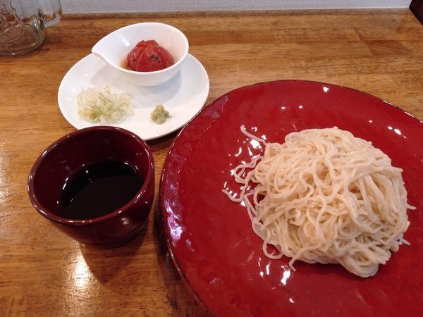 「ざるらぁ麺Ver.2(夏期限定)」@味六屋の写真