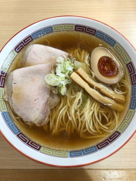 「煮干しラーメン」@煮干鰮らーめん 圓 名古屋大須店の写真