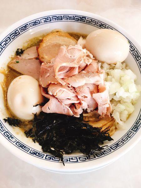 「特製煮干し鶏そば」@中華蕎麦 一無庵の写真