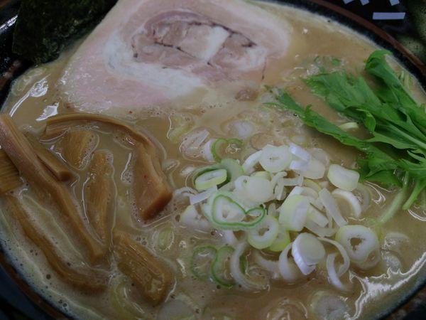 「鶏白湯ラーメン」@土浦ラーメン 土浦店の写真