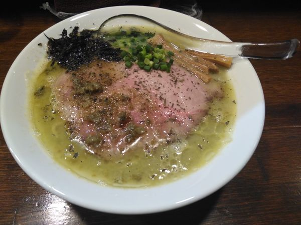 「牡蠣塩らぁ麺650円」@Soupmenの写真