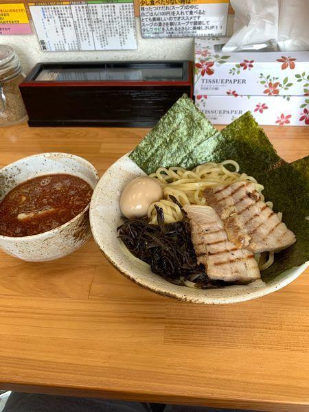 「大盛りつけ麺全部盛り」@つけ麺・ら〜めん 辰寅 宗像店の写真