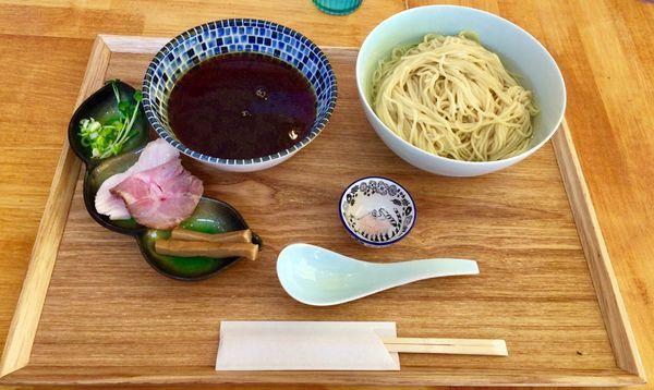 「数量限定 つけそば」@自家製麺と定食 弦乃月の写真