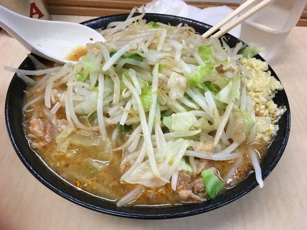 「味噌ラーメン 全マシ」@ラーメン二郎 京成大久保店の写真