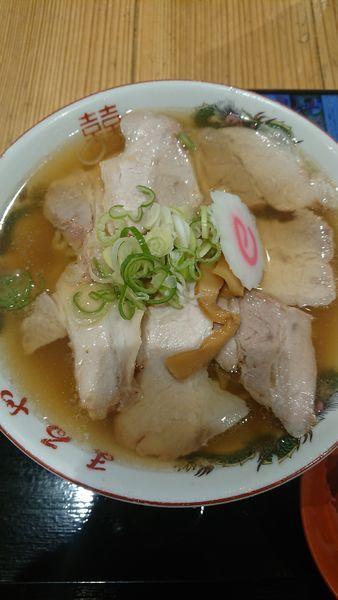 「喜多方老麺まるや チャーシューメン」@日本橋ふくしま館 MIDETTE ミデッテの写真