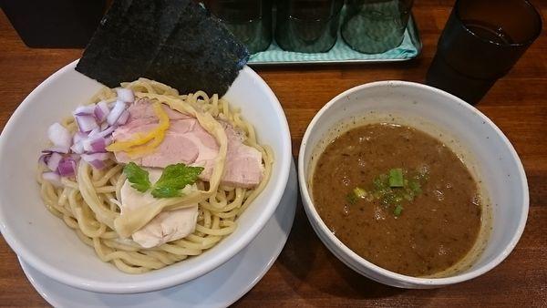 「魚介つけ麺(大)」@らぁ麺しろの写真