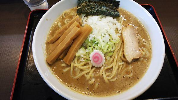 「丸和中華そば 870円」@つけ麺 丸和 弥富店の写真