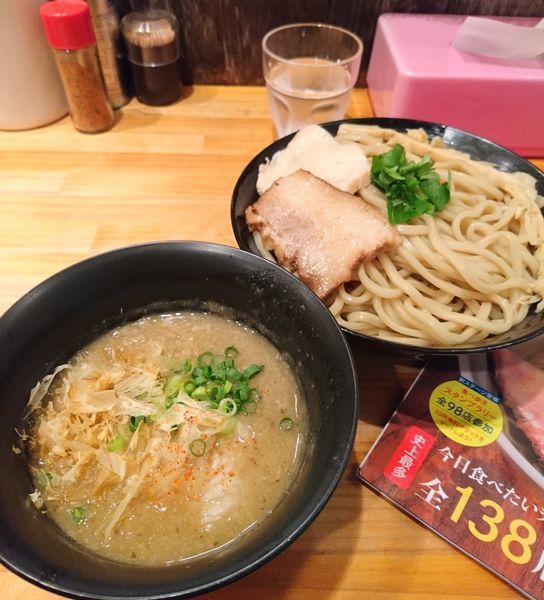 「濃厚つけ麺 ラーパス大盛」@麺魂 39の写真