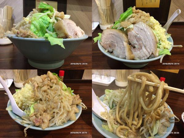 「G系ラーメン麺量300g豚2枚」@中華そば 伸 Chinese-style noodle NOBUの写真