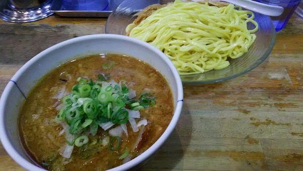 「パンチつけ麺」@流星軒の写真