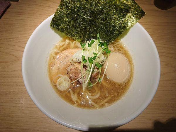 「醤油味玉ラーメン」@杏と桜の写真