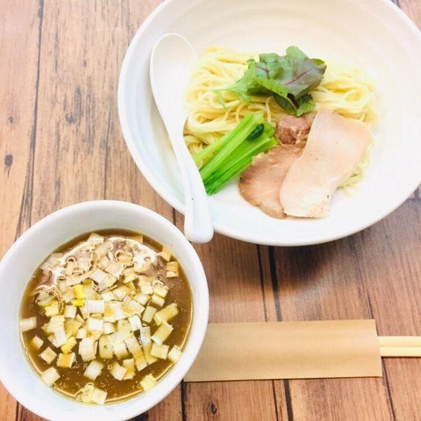 「醤(ひしお)つけsoba 半麺 850」@kingyo noodlesの写真