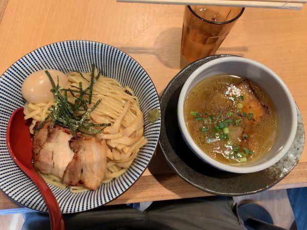 「特製塩つけ麺1000円」@塩つけ麺 灯花の写真