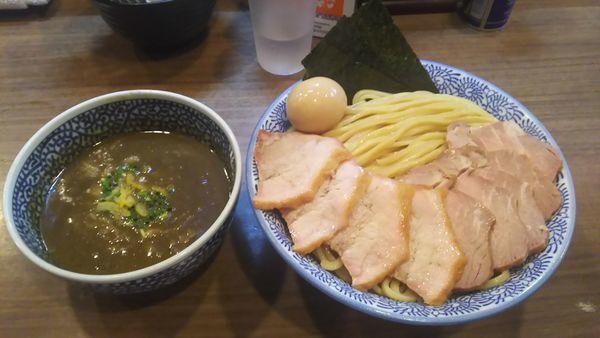 「特製極濃煮干しつけ麺大盛 チャーシュー」@煮干しつけ麺 宮元の写真