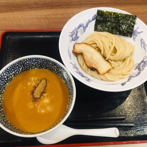 「濃厚魚介つけ麺 830」@豚骨一燈 イトーヨーカドー船橋店の写真