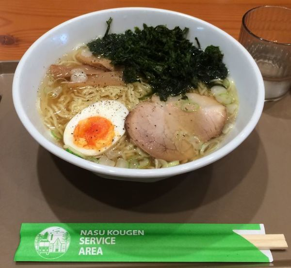 「岩のり塩ラーメン(780円)」@麺屋りんどうの写真