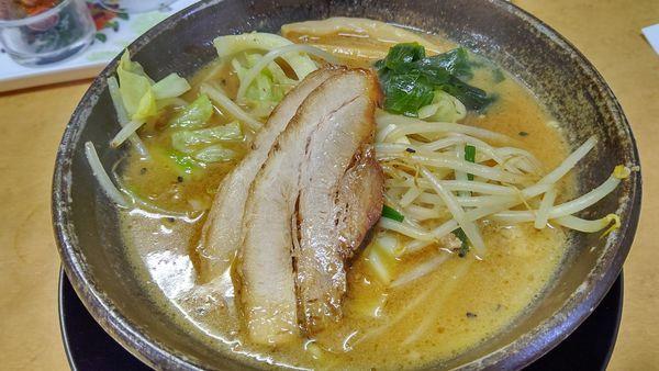 「てっぺん味噌らーめん780円」@麺道 てっぺん家の写真