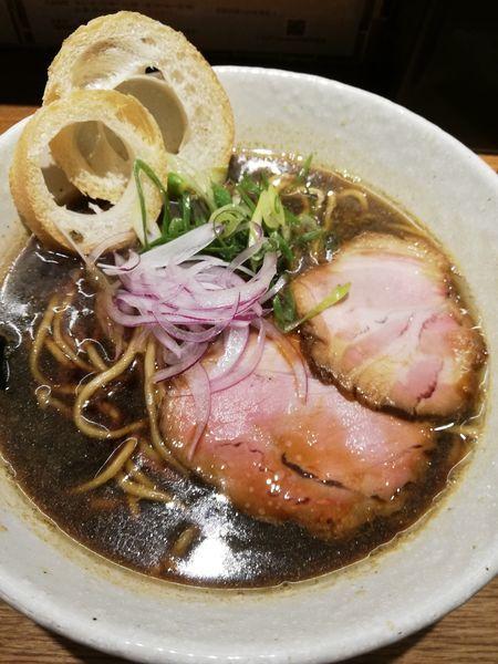 「煮干しブラック」@らーめん専門 和心 武庫之荘店の写真