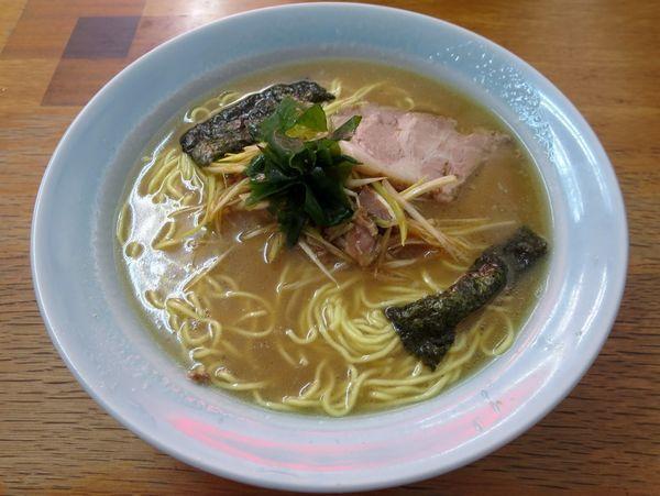 「ネギラーメン 700円 ※麺硬め」@ラーメンショップ 山倉店の写真